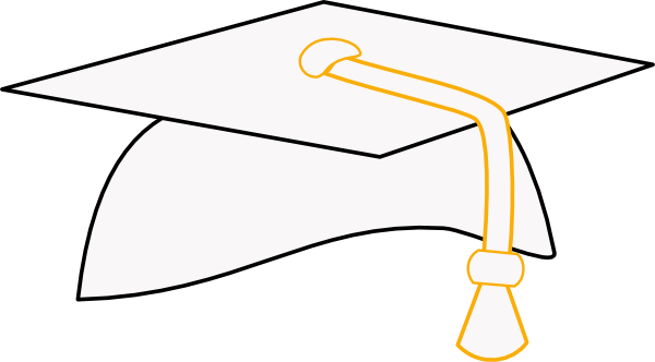picture royalty free download Graduation Cap Clip Art at Clker