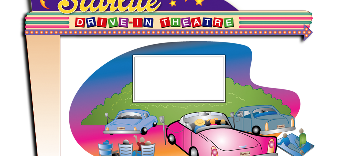 clip art royalty free library Marquee clipart theatre marquee. Homepage starlite drive in.