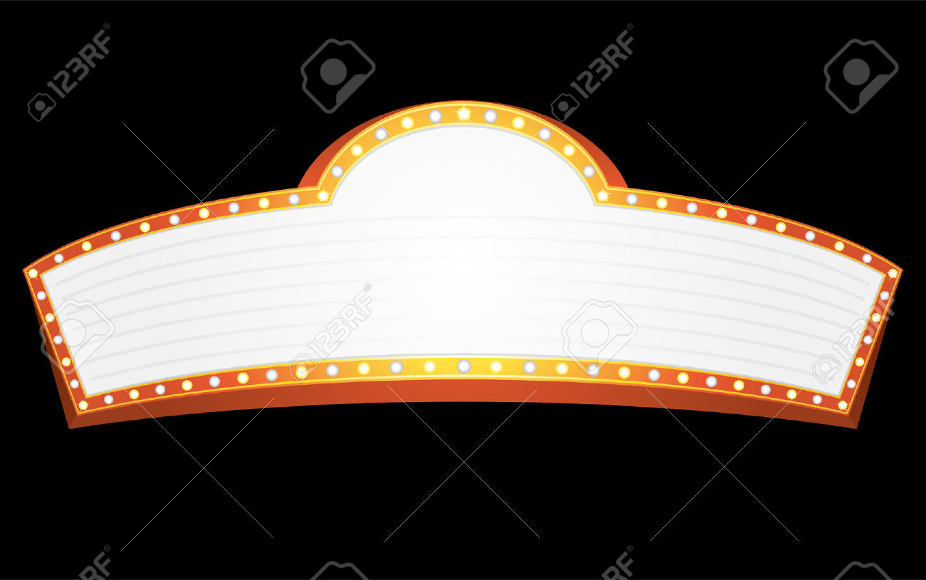 jpg freeuse stock Marquee clipart theatre marquee. Free movie cliparts download.