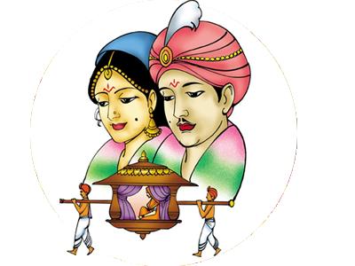 banner transparent library Marriage clipart brahmin. Telugu matrimonial sites in.