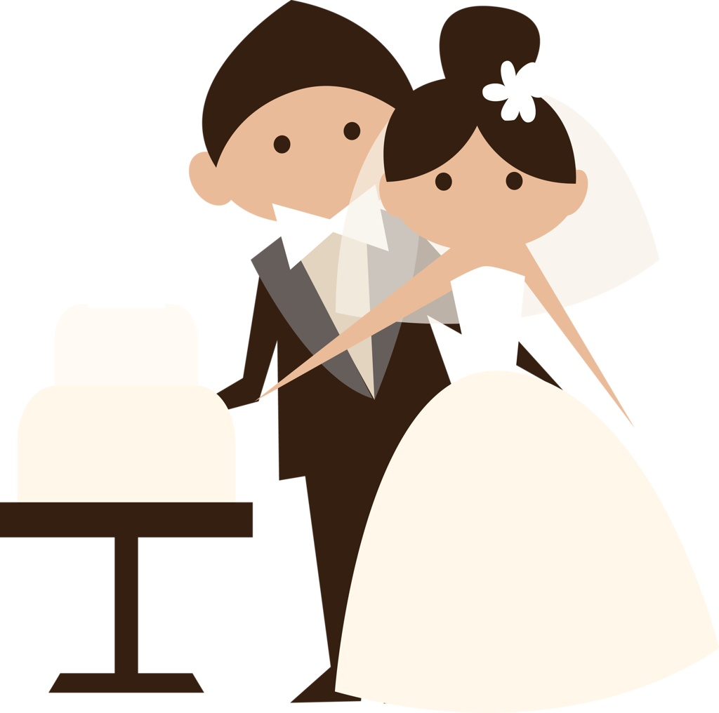 clip library bride dragging groom clipart #60063966