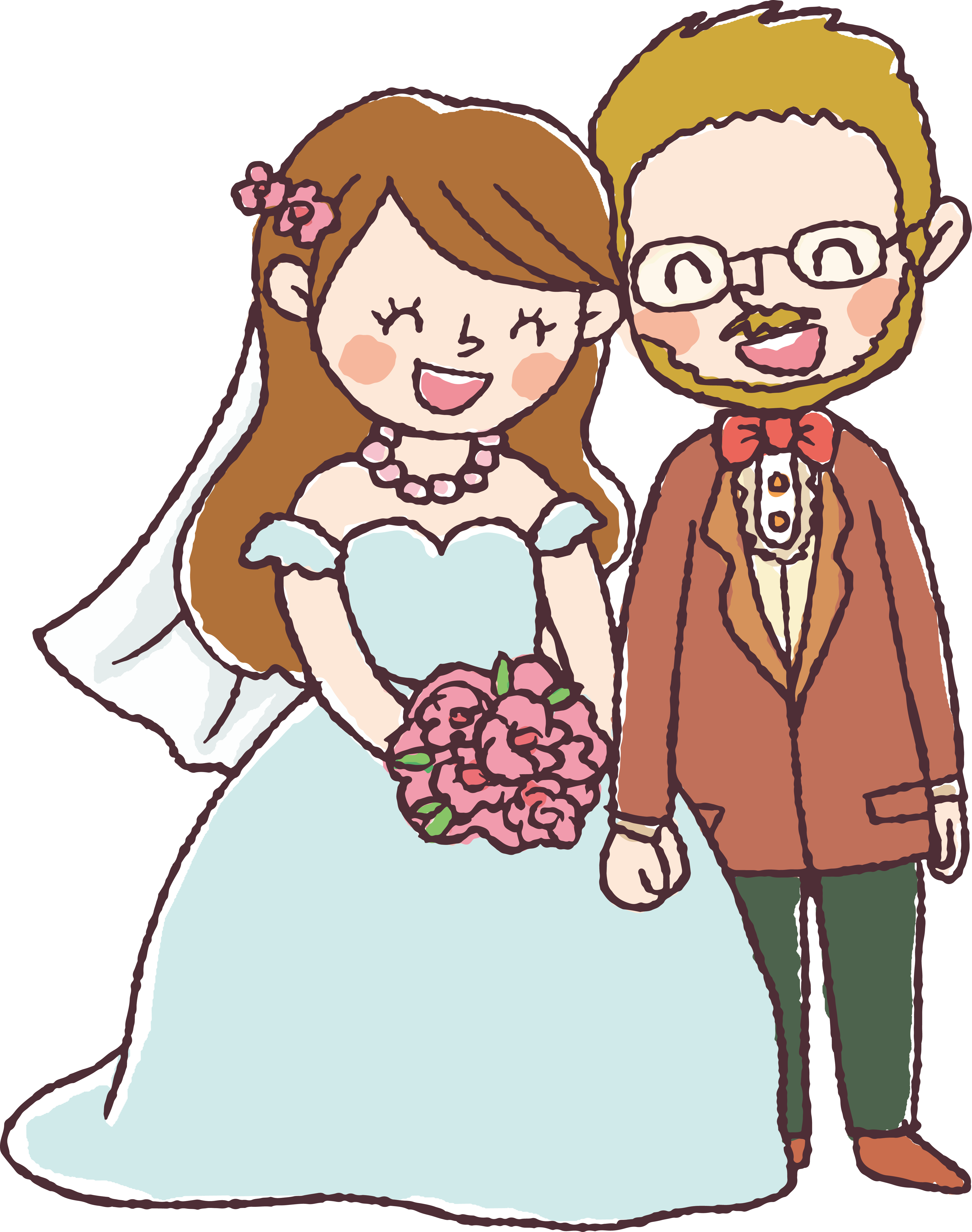 png transparent download Marriage Drawing Wedding invitation couple