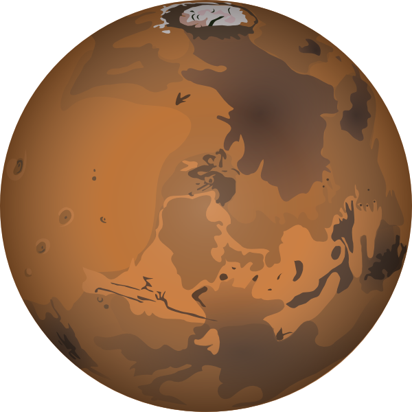 clipart library stock Earth celestial structures pinterest. Mars clipart yellow planet.