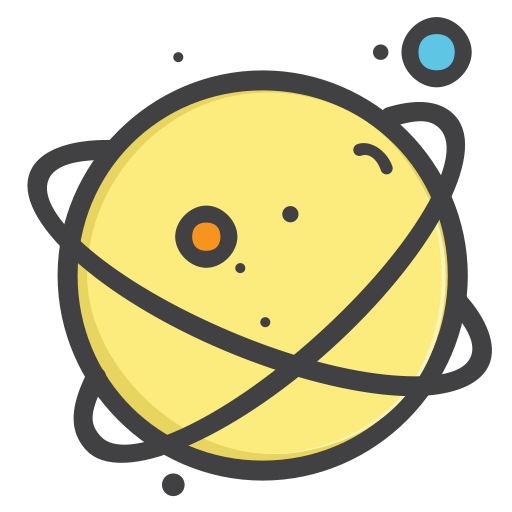 clipart transparent Mars clipart yellow planet. Out of the world.