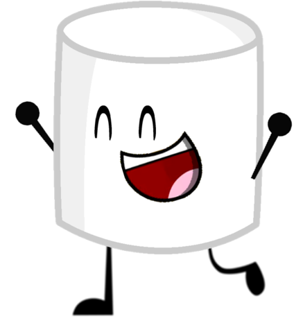 svg freeuse download Marshmallow clipart. Image pose png object