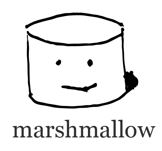 graphic black and white library Marshmallow clipart single. Examples b documentation logo.