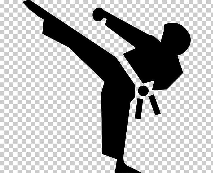 clip art library download Martial arts clipart karate kick. Png angle arm black.