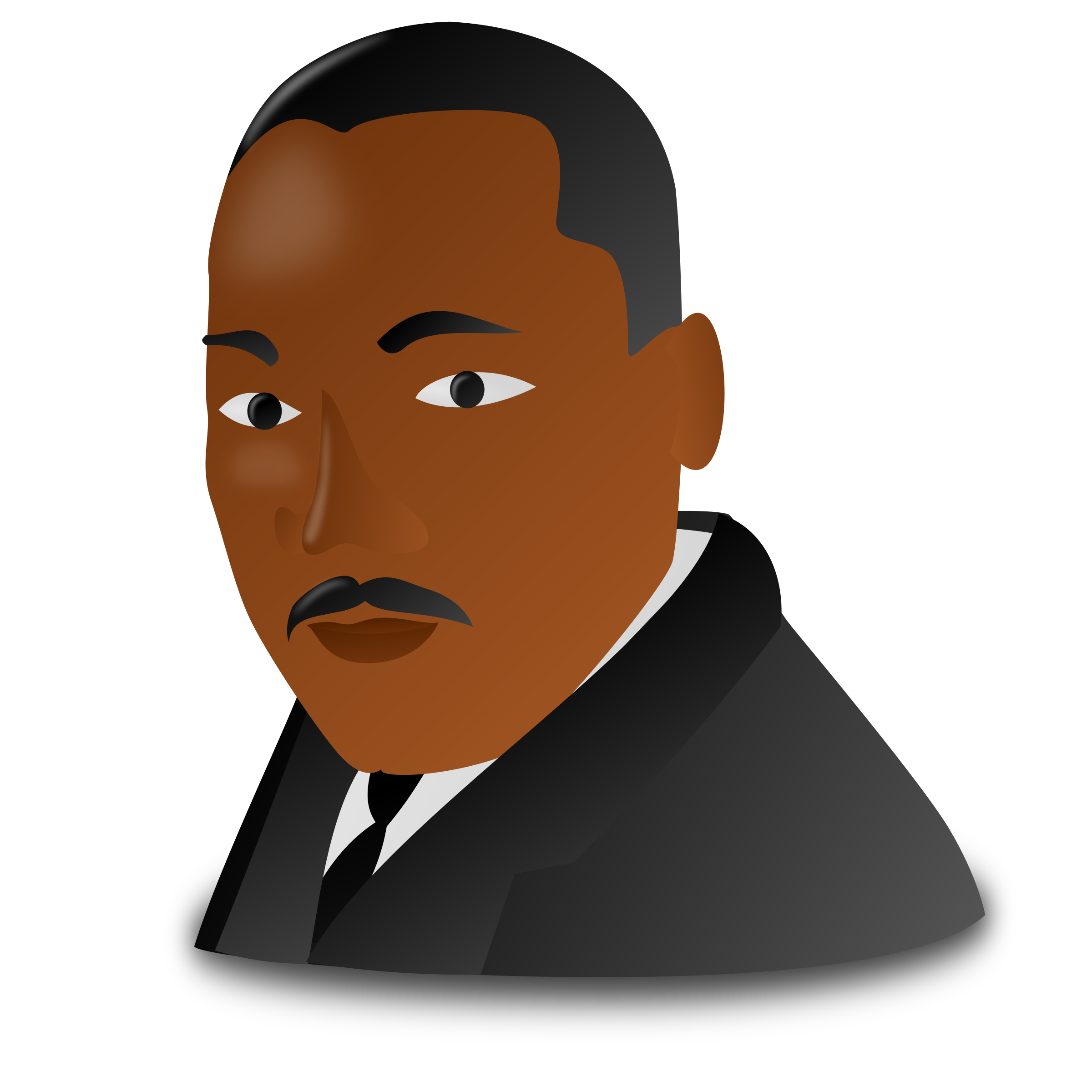 clip black and white download Mlk clipart. Martin luther king jr.