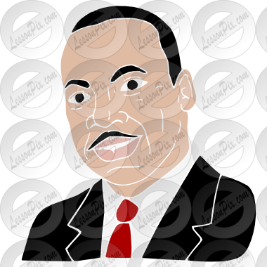 banner library library Mlk clipart portrait. Martin luther king stencil.
