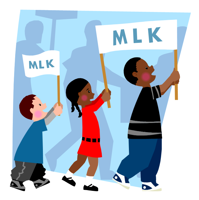 clip Martin luther king jr. Civil clipart