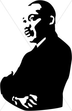 clipart library Martin luther king images. Mlk clipart illustration