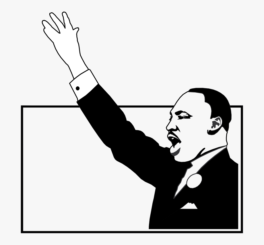 png royalty free library Martin luther jr clipart civil rights movement. African american black .