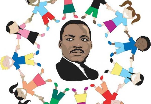 vector stock Martin luther jr clipart diversity. King day crafts and.