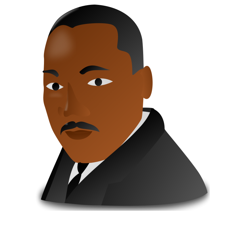png royalty free library Martin luther jr clipart diversity. King day icon clip.