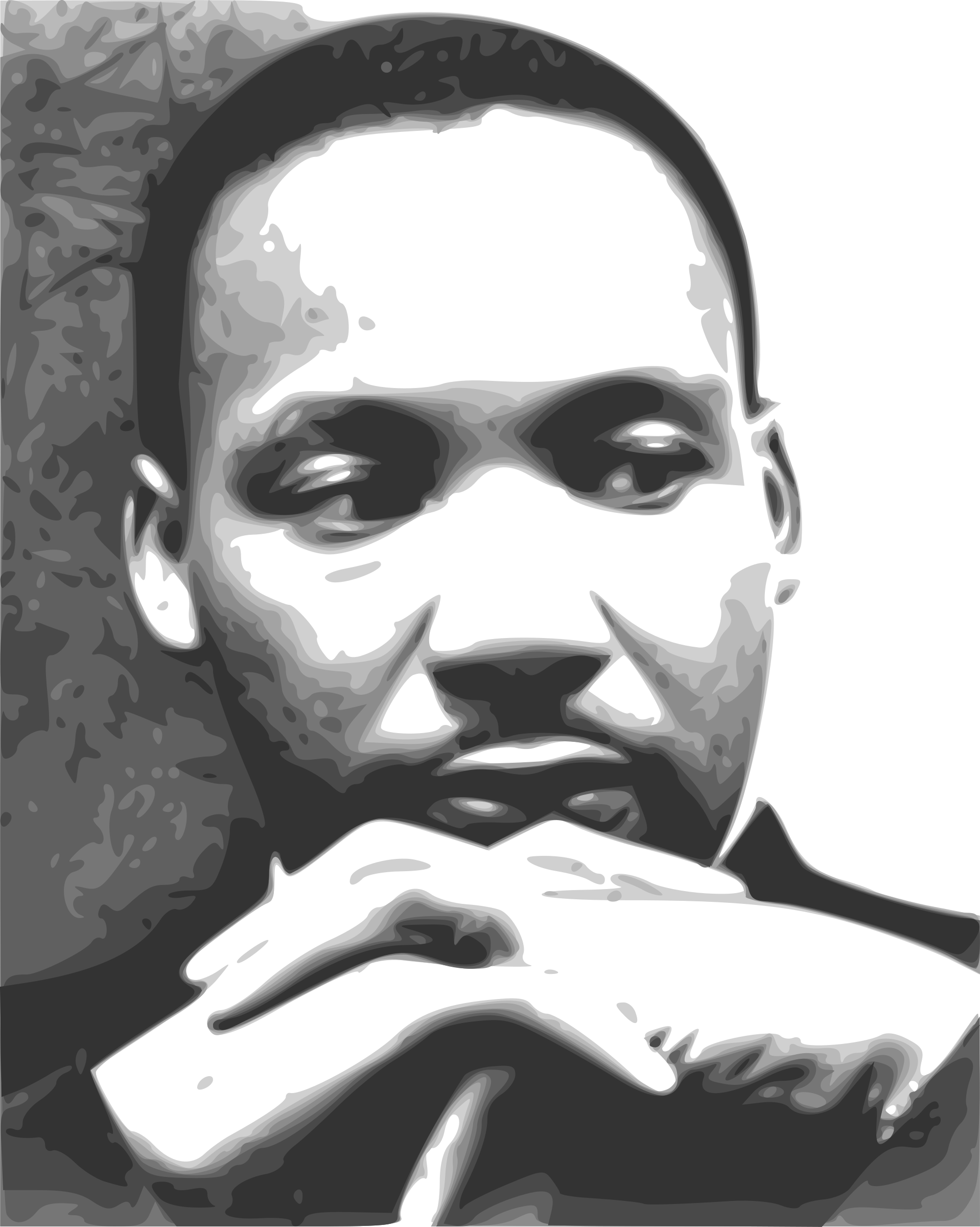clipart black and white library Mlk clipart illustration. Martin luther king jr.