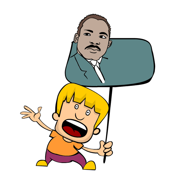 graphic freeuse stock Dr king at getdrawings. Martin luther jr clipart idea.