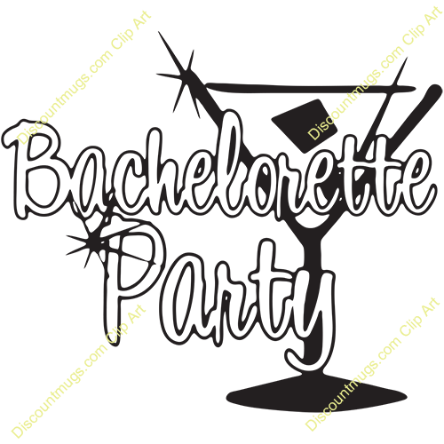 clipart royalty free library Party panda free images. Martini clipart bachelorette.