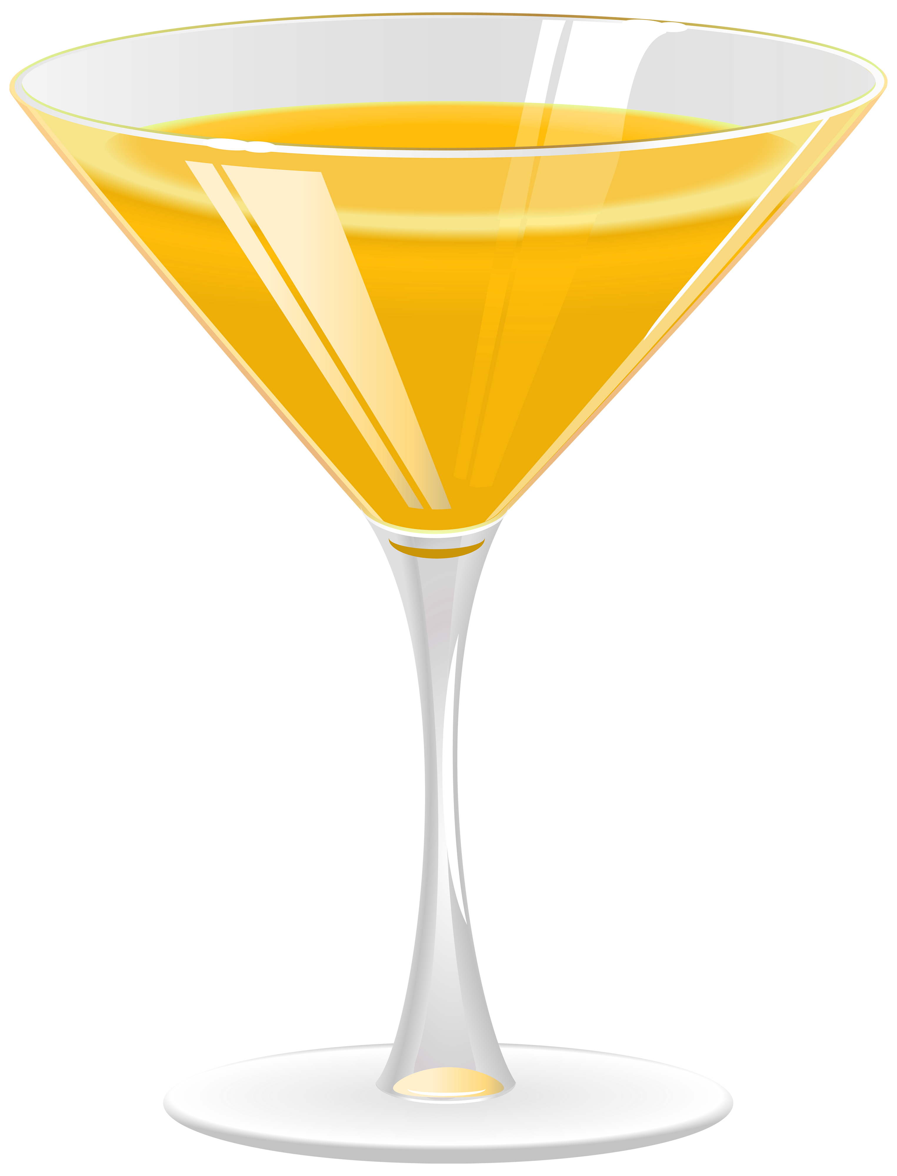 vector free stock Cocktail orange png best. Martini clipart gold.