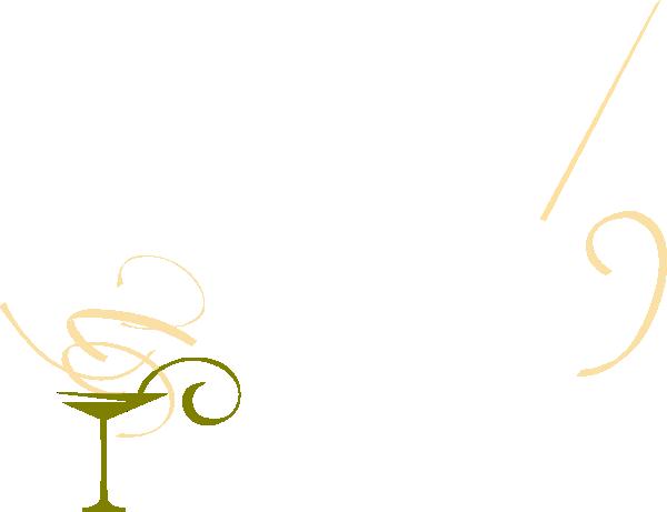 transparent download Glass clip art at. Martini clipart gold.