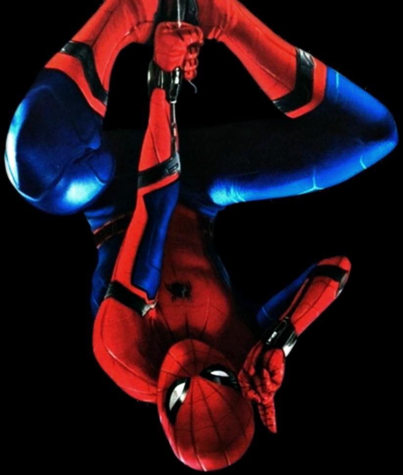 clip art library transparent spiderman upside down #106632265