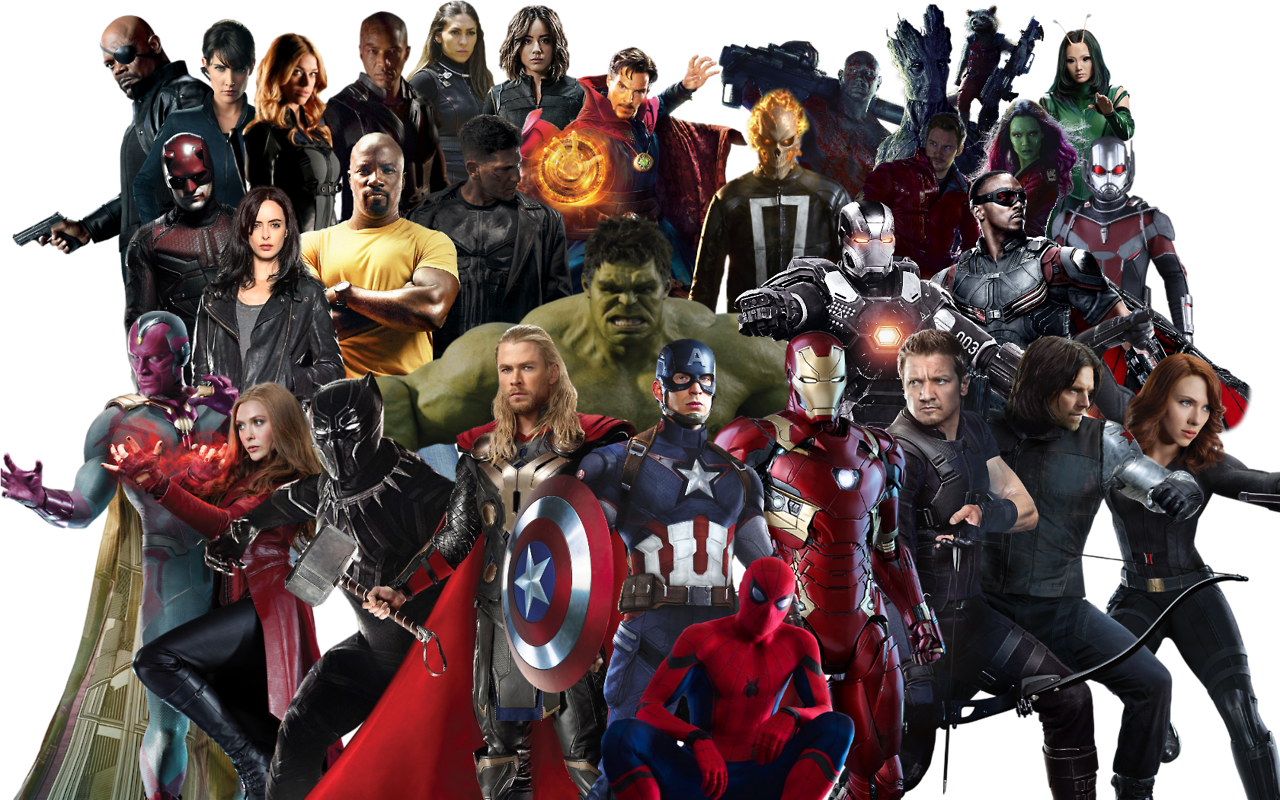 graphic royalty free library Home to superheroes an. Marvel transparent