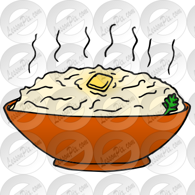 clipart royalty free library Potatoes picture for classroom. Mashed clipart