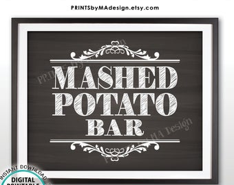 vector black and white stock Etsy . Mashed clipart potato bar.