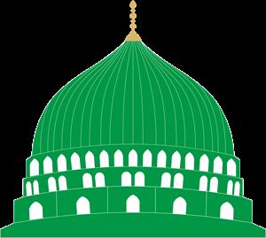 clip royalty free download Vector door mosque. Masjid e nabvi logo
