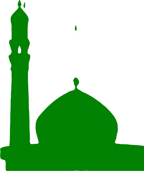 clip library library Green Masjid Clip Art at Clker