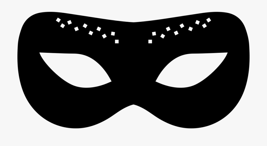 banner Carnival of black png. Mask clipart.