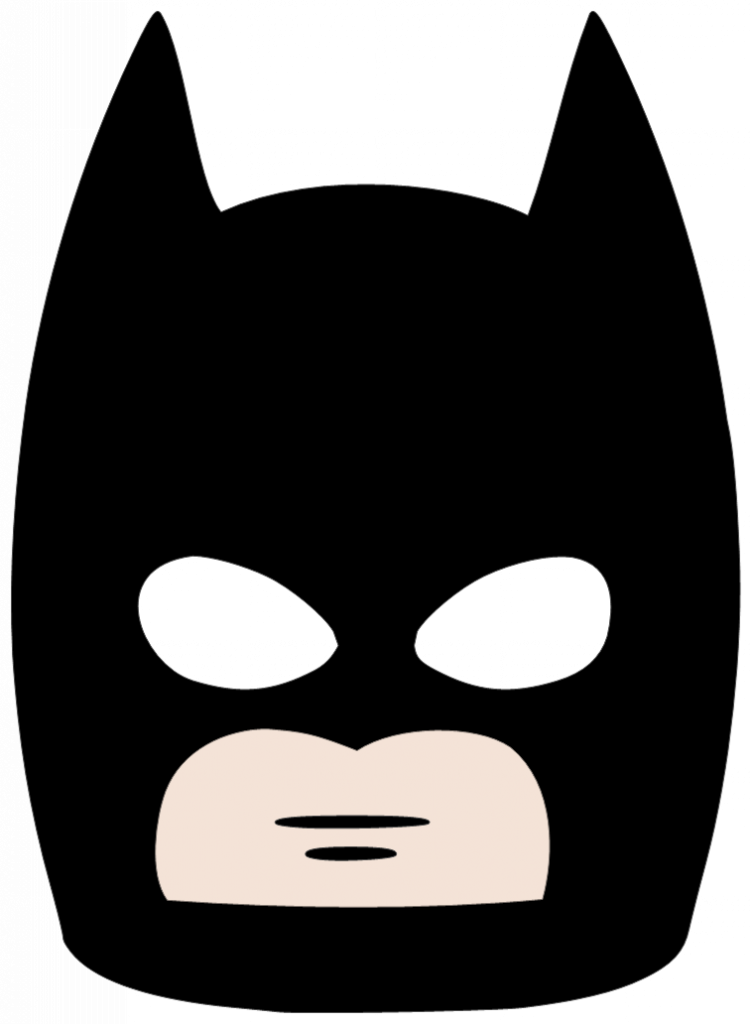 vector library stock Batman Mask Clipart