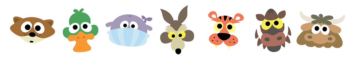 clip freeuse stock Printable paper masks for. Mask clipart animal.