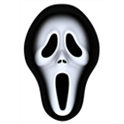 graphic transparent Mask clipart ghostface. Lets go to roblox.