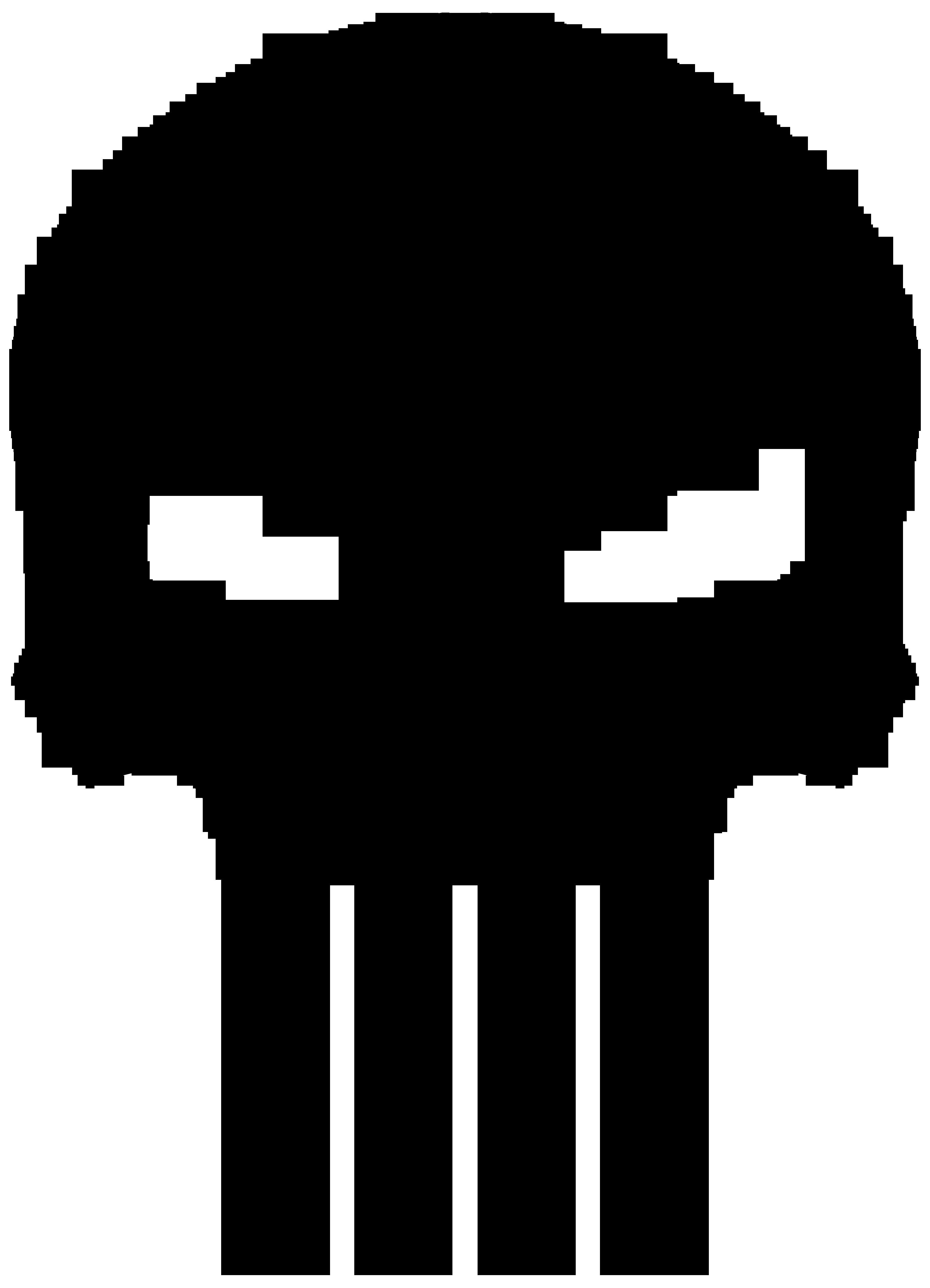 banner transparent library Punisher Emblem by JAMESNG