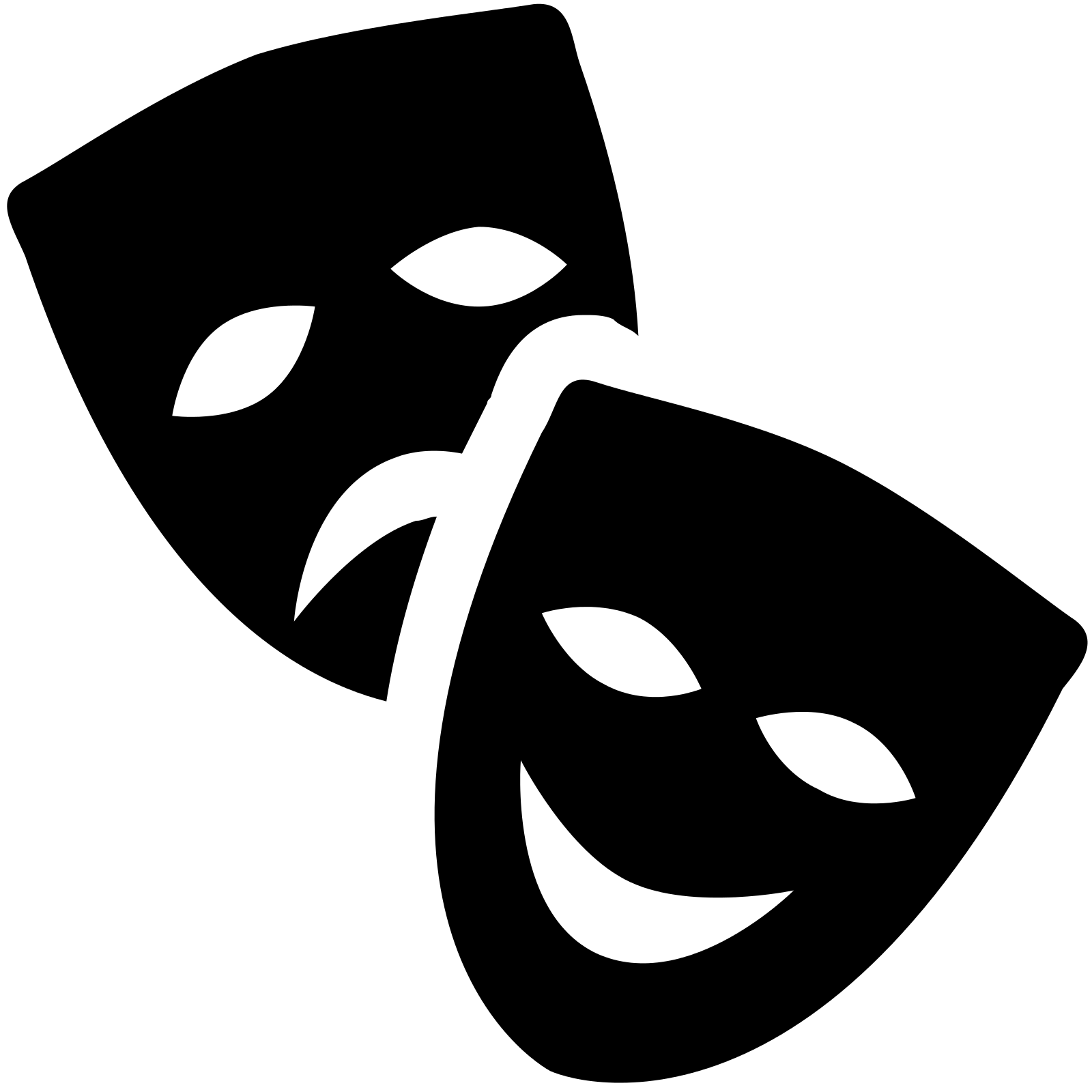 jpg download Mask clipart performing art. Symbol free on dumielauxepices.