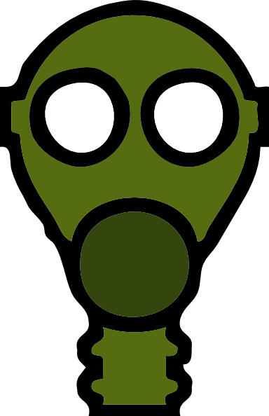 graphic library Gas Mask Clip Art at Clker
