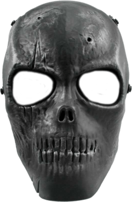 clip freeuse Black skull png stickpng. Mask transparent