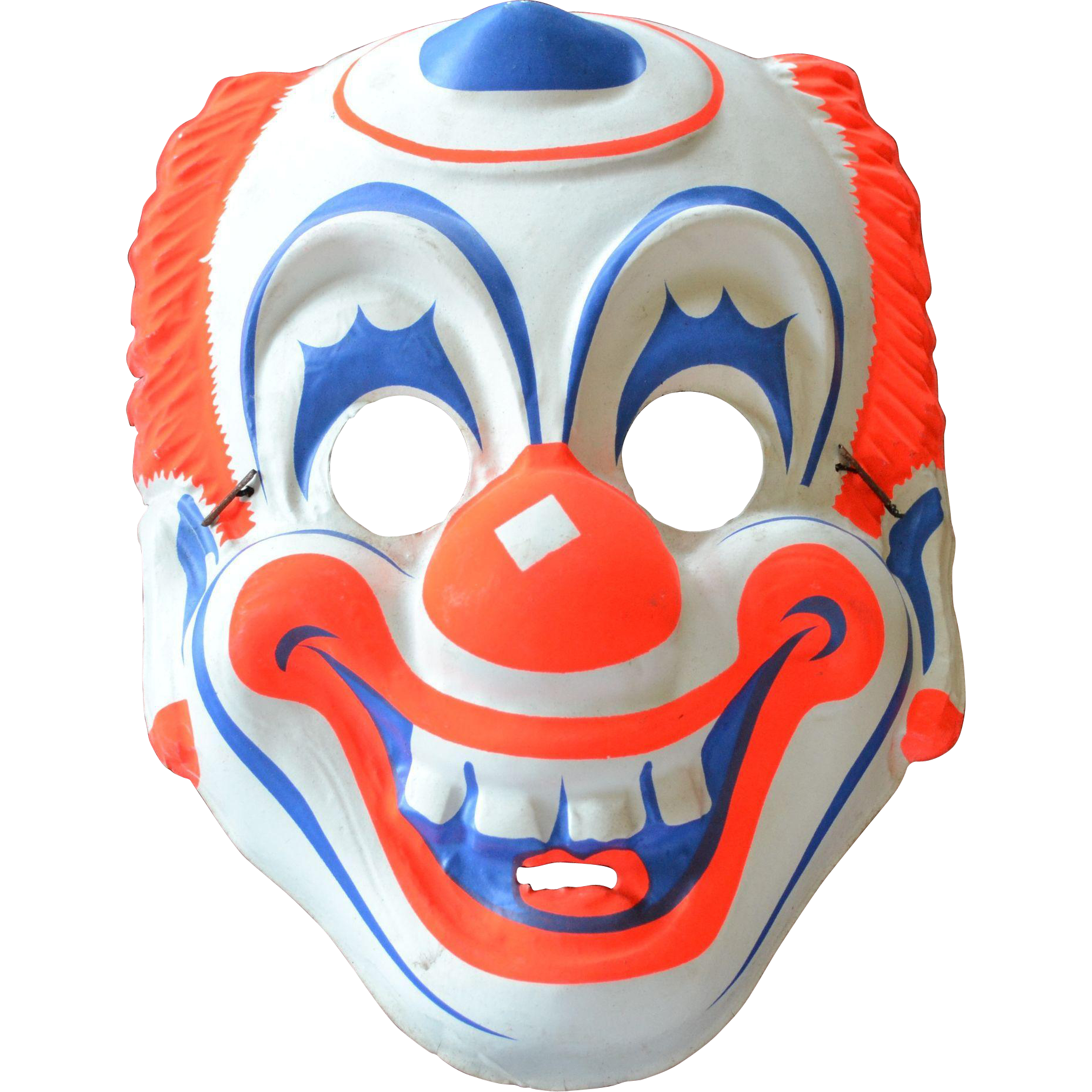 royalty free  masks clown for. Mask transparent clear