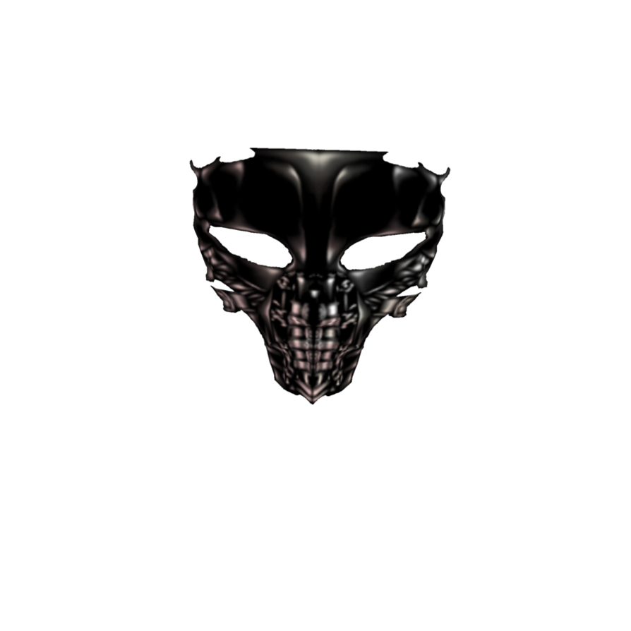 free library Black Goth Mask