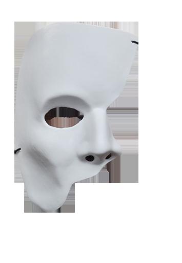 image free mask transparent half face #114420016