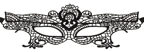 clip art transparent library Mask transparent lace. Eye masquerade prom womens