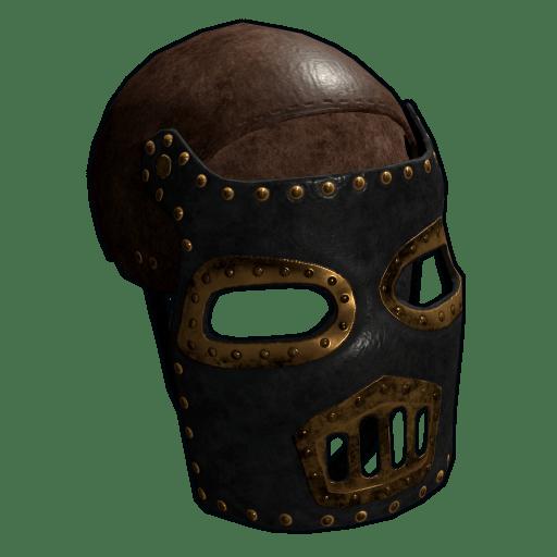 jpg stock Steampunk Leather Mask