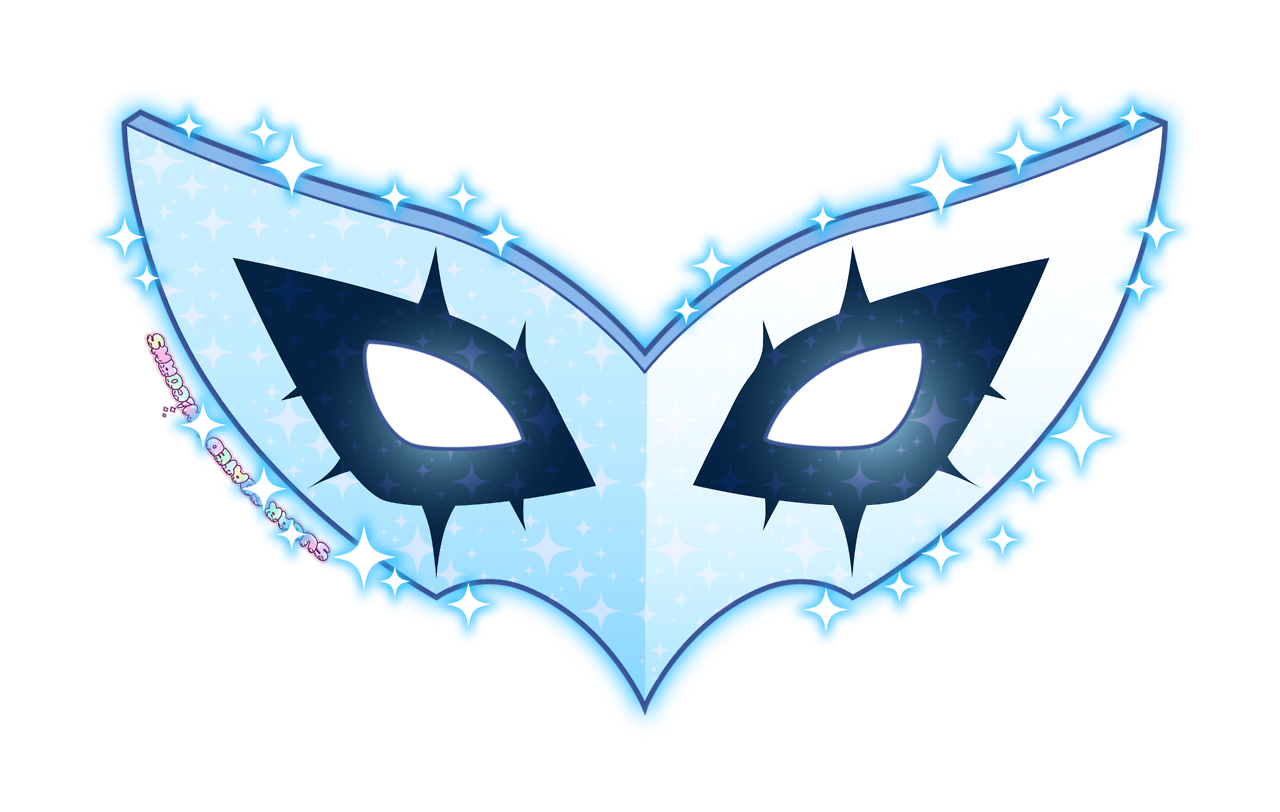 graphic freeuse stock mask transparent persona 5 #114414422
