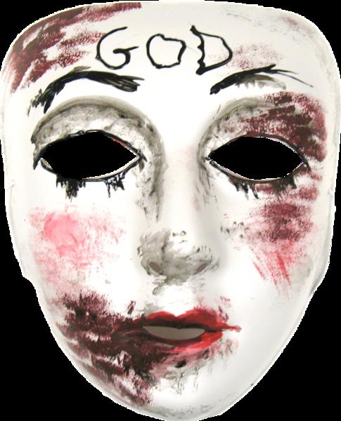 vector transparent Girl Purge Mask