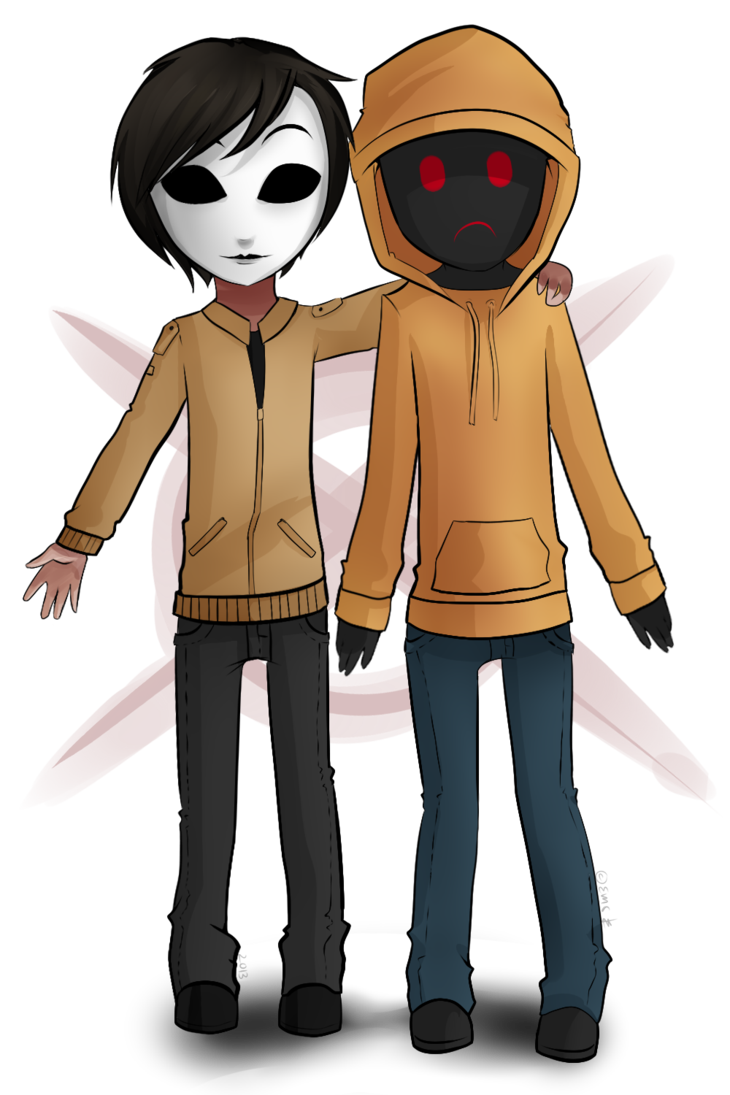 picture freeuse download Masky aaand Hoody