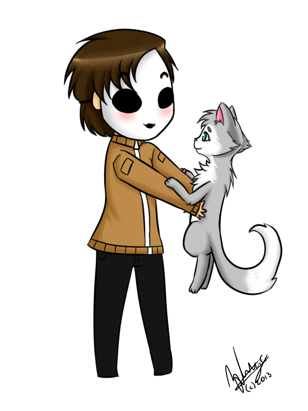 png royalty free download tim masky and cat