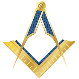 graphic free download Masonic square and compass. Mason clipart.
