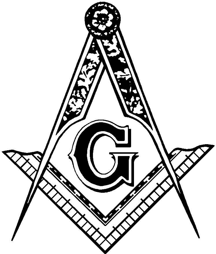 vector black and white library Free emblem cliparts download. Mason clipart masonic lodge.