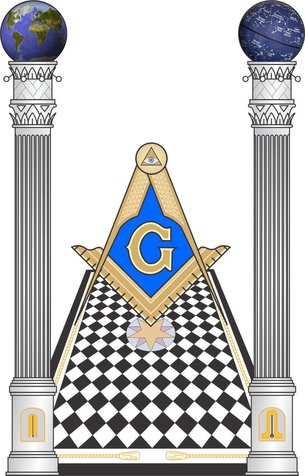 picture royalty free stock Mason clipart masonic lodge. Arcana tiled floor and.