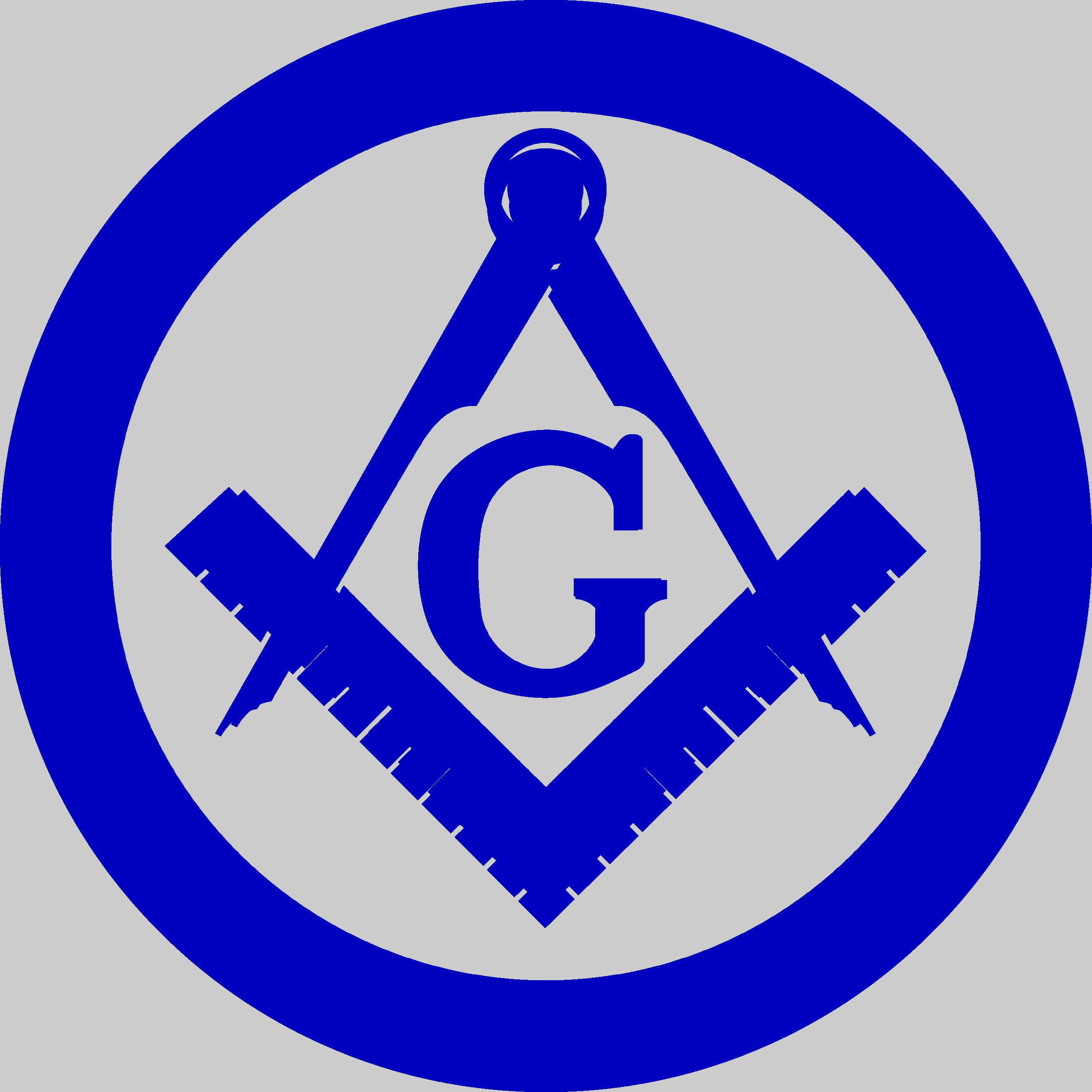 svg black and white stock Mason clipart square compass. Free masonic emblems logos.